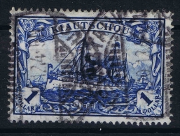 Deutsche Reich: Kiautschou  Mi Nr 35 I A   Used, Fotoattest  Jäschke BPP Friedensdruck 26 : 17