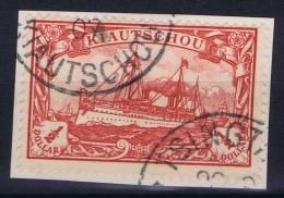 Kiautschou  1905 1/2 Dollar BPP Signiert /signed/ Signé Steuer