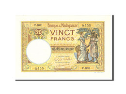 Madagascar, 20 Francs, 1937, KM:37, Undated, SPL - Madagascar