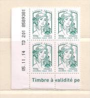 FRANCE  ( FR - 126 )  2013  N° YVERT ET TELLIER  N° 4776  N** - Coins Datés