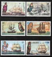 LIBERIA   Scott # 608-13 VF USED - Liberia