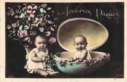 Fêtes De Paques - Joyeuses Pâques (Bébés, Oeuf) - Pâques