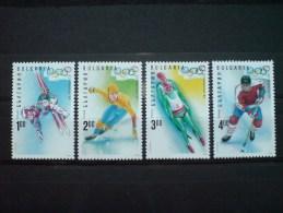 BULGARIA 1994 SPORT Winter Olympic Games LILLEHAMMER - Fine Set MNH - Unclassified