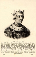 Postcard / CP / Postkaart / Ed. Lévy Et Neurdein Réunis / Paris / Louis VIII Le Lion (roi De France) - Historische Persönlichkeiten