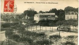 CPA 93 LE RAINCY ROND POINT DE MONTFERMEIL 1911 - Le Raincy