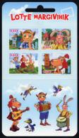 ESTONIA Estland 2015 Stamp Lotte MNH Mini Sheet Of 4 - Estonia