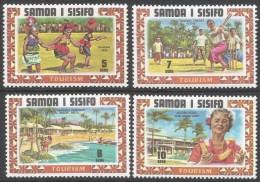 Samoa. 1971 Tourism. MH Complete Set. SG 365-368 - Samoa