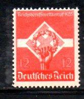 TERZO REICH 1935 , Gioventù Operaia Serie Unificato  N. 531  ***  MNH - Deutschland