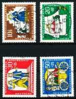 BERLIN 1966 Nr 295-298 Zentrisch Gestempelt X63703E - Gebraucht