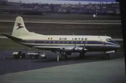 VISCOUNT 708   AIR INTER  F BLHI - 1946-....: Ere Moderne