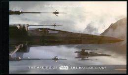 Great Britain 2016 Star Wars Space Prestige Booklet MNH - Space