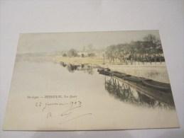 CPA BERGERAC LES QUAIS  1903 - Bergerac
