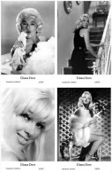 DIANA DORS - Film Star Pin Up - Publisher Swiftsure Postcards 2000 SET 117-20 - Artistes