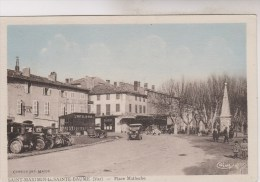 SAINT MAXIMIN LA SAINTE BAUME    PLACE MALHERBE - Saint-Maximin-la-Sainte-Baume
