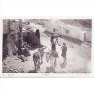 MLGTP1578-LFTD11638.Tarjeta Postal De MALAGA.Casas,burros Y Gitanos De  MALAGA - Málaga