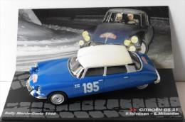 CITROEN DS 21 #195 RALLYE MONTE CARLO 1966 TOIVONEN MIKANDER IXO ALTAYA 1/43 - Rallye