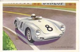 Porsche Le Mans  -  Carte Postale Tobler - Le Mans