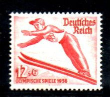 TERZO REICH 1935 , Unificato Olimpiadi N. 560  * - Germania