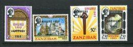 Zanzibar Scott #301-4 Mint Never Hinged - Zanzibar (1963-1968)