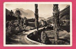 Vallée D'Aspe Vers Le Somport, Cachet Groupement Des Isolés De La Vallée D'Aspe, 1940, (Combier, Macon) - France