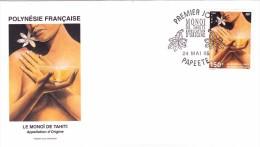 POLYNESIE FRANCAISE 1995 @ Enveloppe Premier Jour FDC Le MONOI De Tahiti - Papeete - Produit Beauté - FDC