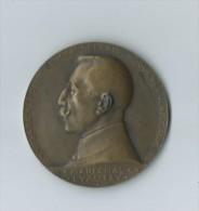 Médaille Bronze 1926 Graveur S.E. VERNIER Maréchal LYAUTEY La Renaissance Du Maroc 1912-1924.. - France