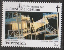 MB 3395) Österreich Austria Mi# 2719 **: Wiener Staatsoper: La Forza Del Destino, Die Macht Des Schicksals, Oper VERDI - Muziek