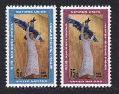 NATIONS UNIES NEW-YORK N°  177 & 178 ** MNH Neufs Sans Charnière, TB  (D1364) - New-York - Siège De L'ONU