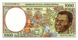 East African States - Afrique Centrale Gabon 1994 Billet 1000 Francs Pick 402 B Neuf 1er Choix UNC - Gabon