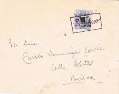 16488. Carta BILBAO 1873. Marca Sitio Guerra Carlista POR VAPOR - Briefe U. Dokumente