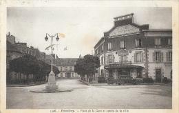 Pontivy (Morbihan) - Place De La Gare Et Entrée De La Ville - Hôtel Des Voyageurs - Edition Laurent Nel - Pontivy