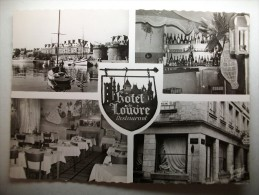 Carte Postale Saint Malo Hotel Du Louvre (menu Du 24/9/1960) - Saint Malo