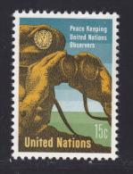 NATIONS UNIES NEW-YORK N°  155 * MLH Neuf Avec Charnière, TB  (D1374) - New-York - Siège De L'ONU