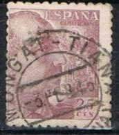 Sello 25 Cts Caudillo, Fechador MONTGAT-TIANA (Barcelona), Num  923 º - 1931-Today: 2nd Rep - ... Juan Carlos I