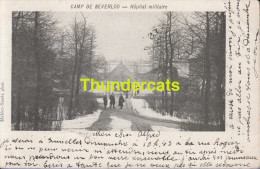CPA CAMP DE BEVERLOO  HOPITAL MILITAIRE - Leopoldsburg (Kamp Van Beverloo)