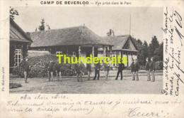 CPA CAMP DE BEVERLOO  VUE PRISE DANS LE PARC - Leopoldsburg (Camp De Beverloo)