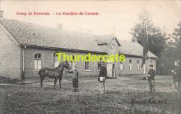 CPA CAMP DE BEVERLOO  LE PAVILLON DU COLONEL - Leopoldsburg (Camp De Beverloo)