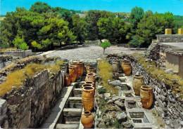 "Grèce CNOSSOS( Knossos Archéologie) Les Magasins Vers La Cour Ouest (cachet DAHER & Cie Beyrouth Liban EMA""Daher & Cie"" - Grèce"