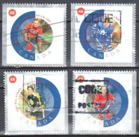 Canada 2002 - Mi.2031,32,34,35 - 4v - Used - 1952-.... Elizabeth II