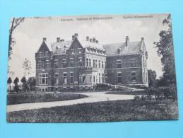 Château De BULSKAMPVELD Kasteel ( Léon Van Parys ) Anno 1911 ( Zie Foto Voor Details ) !! - Beernem