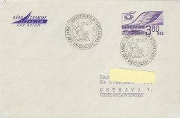 Aérogramme Par Avion Bratislava CSA 1971 - Corréo Aéreo