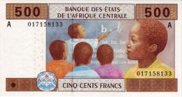 East African States - Afrique Centrale Gabon 2002 Billet 500 Francs Pick 406 Neuf 1er Choix UNC - Gabon