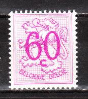 1370P2**  Lion h�raldique - Papier blanc - LA bonne valeur - MNH** - COB 620.00 - RRR!!!!