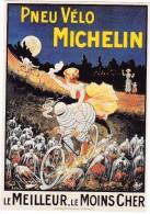 CPM Michelin Bibendum Pneu Vélo Bicyclette - Publicité