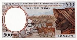 East African States - Afrique Centrale Guinée Equatoriale 2000 Billet 500 Francs Pick 501 G Neuf 1er Choix UNC - Equatorial Guinea