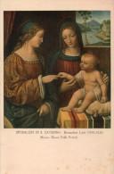 CPA SPOSALIZIO DI S. CATERINA - BERNARDINO LUINI - Peintures & Tableaux