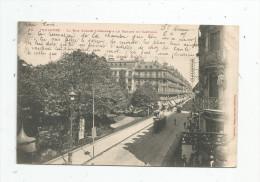 Cp , 31 , TOULOUSE , La Rue Alsace Lorraine & Le Square Du CAPITOLE , Voyagée 1903 , Dos Simple - Toulouse