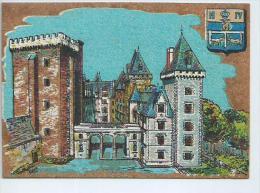 Pyrénées Atlantiques .Pau Carte En Liège - Pau