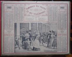 - ALMANACH DES POSTES ET DES TELEGRAPHES - L LE JARDIN DES PLANTES - - Grand Format : 1901-20
