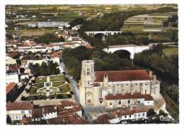 Cpsm: 81 LAVAUR  (ar. Castres) Cathédrale Alain, Ponts Sur L' Agout (Vue Aérienne)  CIM   N° 540.60 A - Lavaur